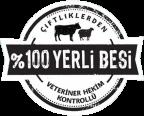 100-100-Veteriner hekim kontrollü-yerli-besi